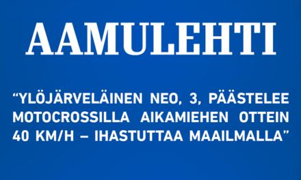 Aamulehti – 10.9.2016